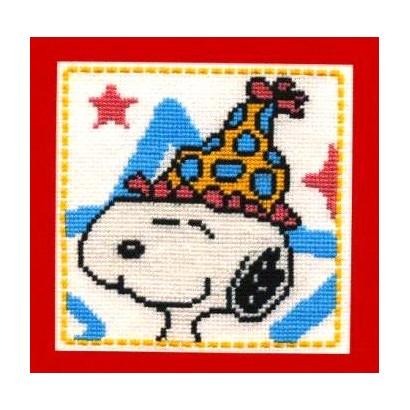 Snoopy en chapeau de fête