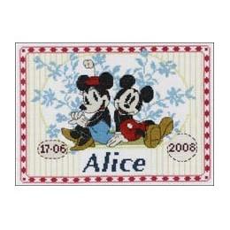 Tableau prénom Mickey