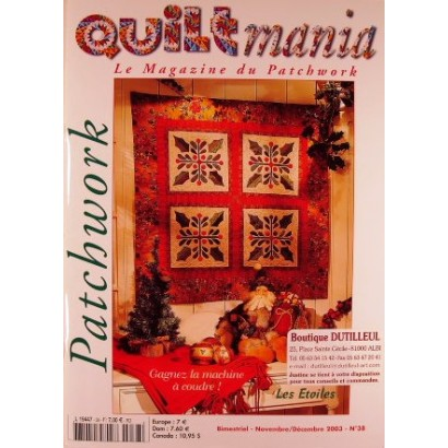 Quiltmania n°38