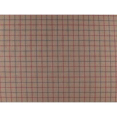 Tissu carreaux rose et bleu