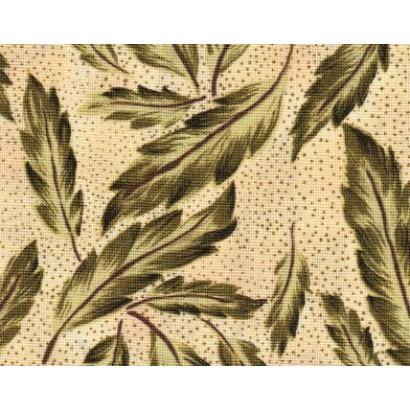 Tissu Longues feuilles