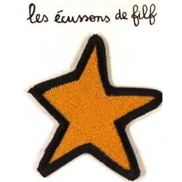 Grande étoile jaune