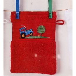 Kit Tracteur gant de toilette