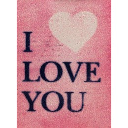 Ecusson I love you