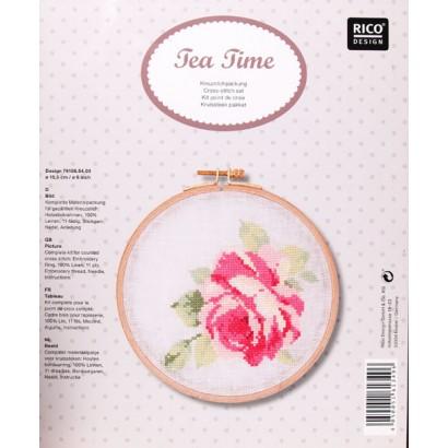 Rose avec tambour